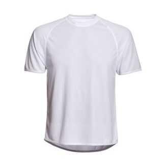 Wit T-shirt 100% polyester - maat XXL